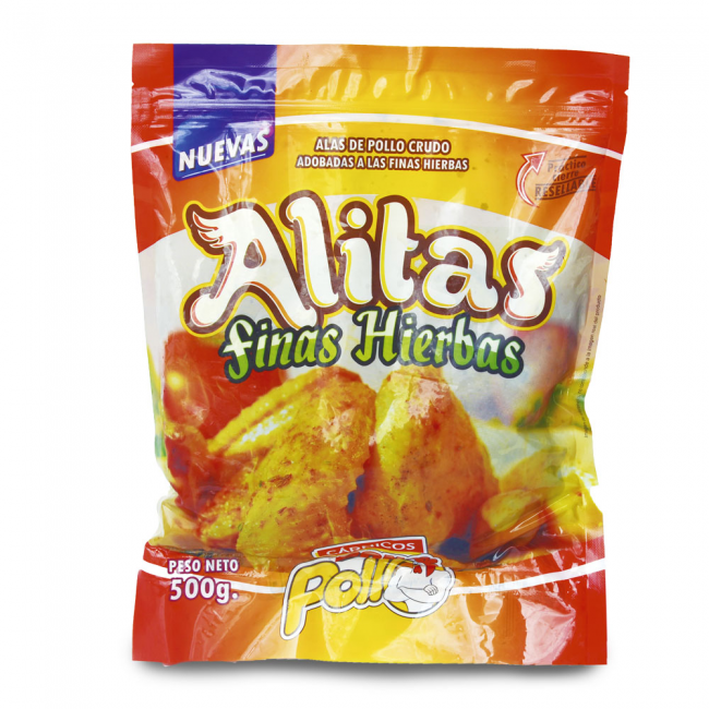 Alitas Finas Hierbas