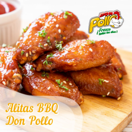 Alitas BBQ Don Pollo