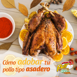 Adobo con ajo y laurel para tu pollo entero